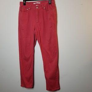 "Tommy Hilfiger Women's Rose color Jeans Size 8/30"""